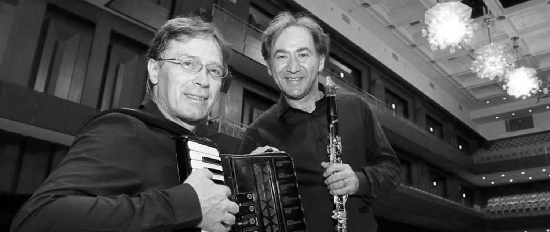 Massimo Santaniello (Clarinetto), Gianni Fassetta (Fisarmonica)
